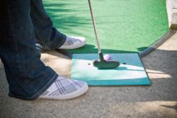 Mini-golf insurance